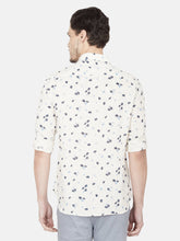 Load image into Gallery viewer, Men's Slim-fit Printed Casual Shirt-OJN1169FBeige