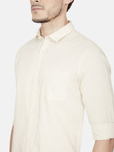 Load image into Gallery viewer, Men's Cotton Slim-fit Casual Shirt-OJN1239FBeige