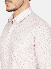 Load image into Gallery viewer, Men's Slim-fit Printed Formal Shirt-OPSL6627FLilac