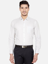 Load image into Gallery viewer, Men's Slim-fit Printed Formal Shirt-OPSL6629FWhite