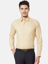 Load image into Gallery viewer, Men's Cotton Slim-fit Formal Shirt-OPSL6806FYellow