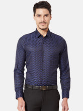 Load image into Gallery viewer, Men's Cotton Slim-fit Formal Shirt-OXSL3285FBlue
