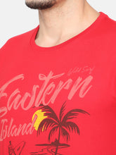 Load image into Gallery viewer, Men's Cotton T-shirt-TC5248Red