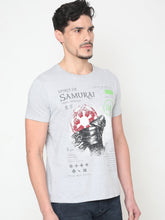 Load image into Gallery viewer, Men's Cotton Crew Neck T-shirt-TC6276Grey