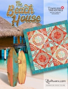 Beach House Quiltworx Quilting Pattern