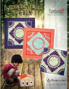 Lincoln Logs Quiltworx quilting pattern