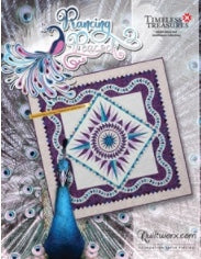 Prancing Peacock Quiltworx Quilting Pattern