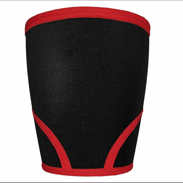 Knee Sleeves (1 Pair) Support & Compression for Weightlifting, Powerlifting & CrossFit - 7mm Neoprene Sleeve for the Best Squats