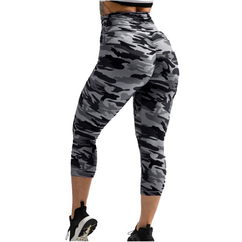 Push Up Leggings Women Legins Fitness High Waist Leggins Anti Cellulite Leggings Workout Sexy Camouflage Jeggings Sportleggings