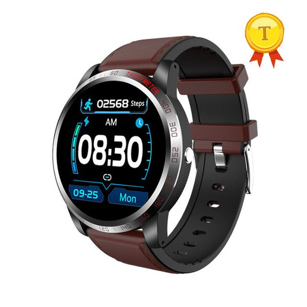 2020 best selling round Smart Watch Men ECG PPG Heart Rate Blood Pressure Monitor IP67 Waterproof Smartwatch pk DT78 L5 L8 L7