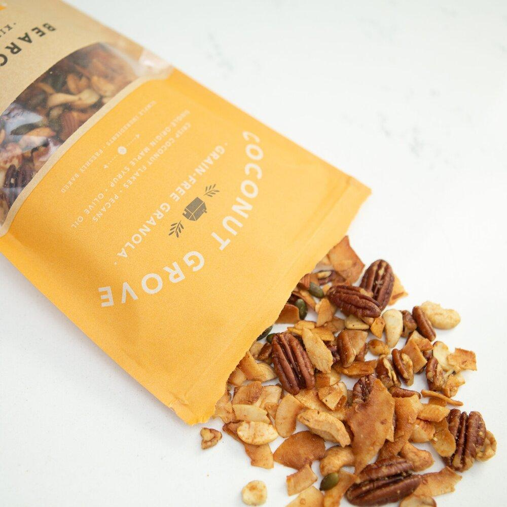 Load image into Gallery viewer, Coconut Grove Grain-Free Granola Bearclaw Kitchen