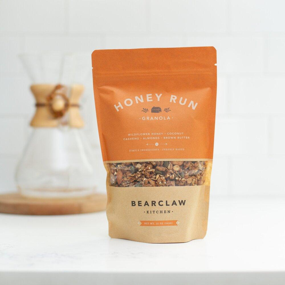 Honey Run Granola Bearclaw Kitchen