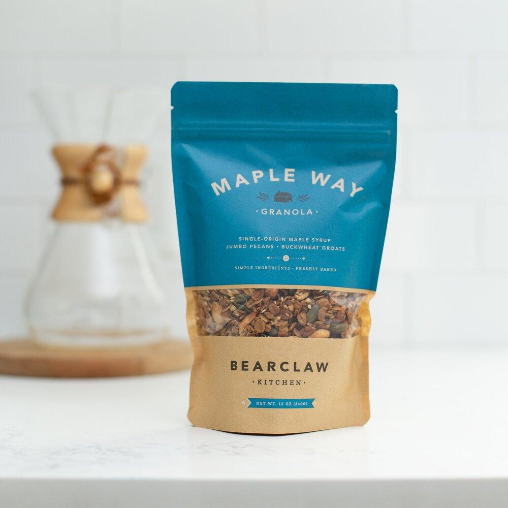 Maple Way Granola Bearclaw Kitchen