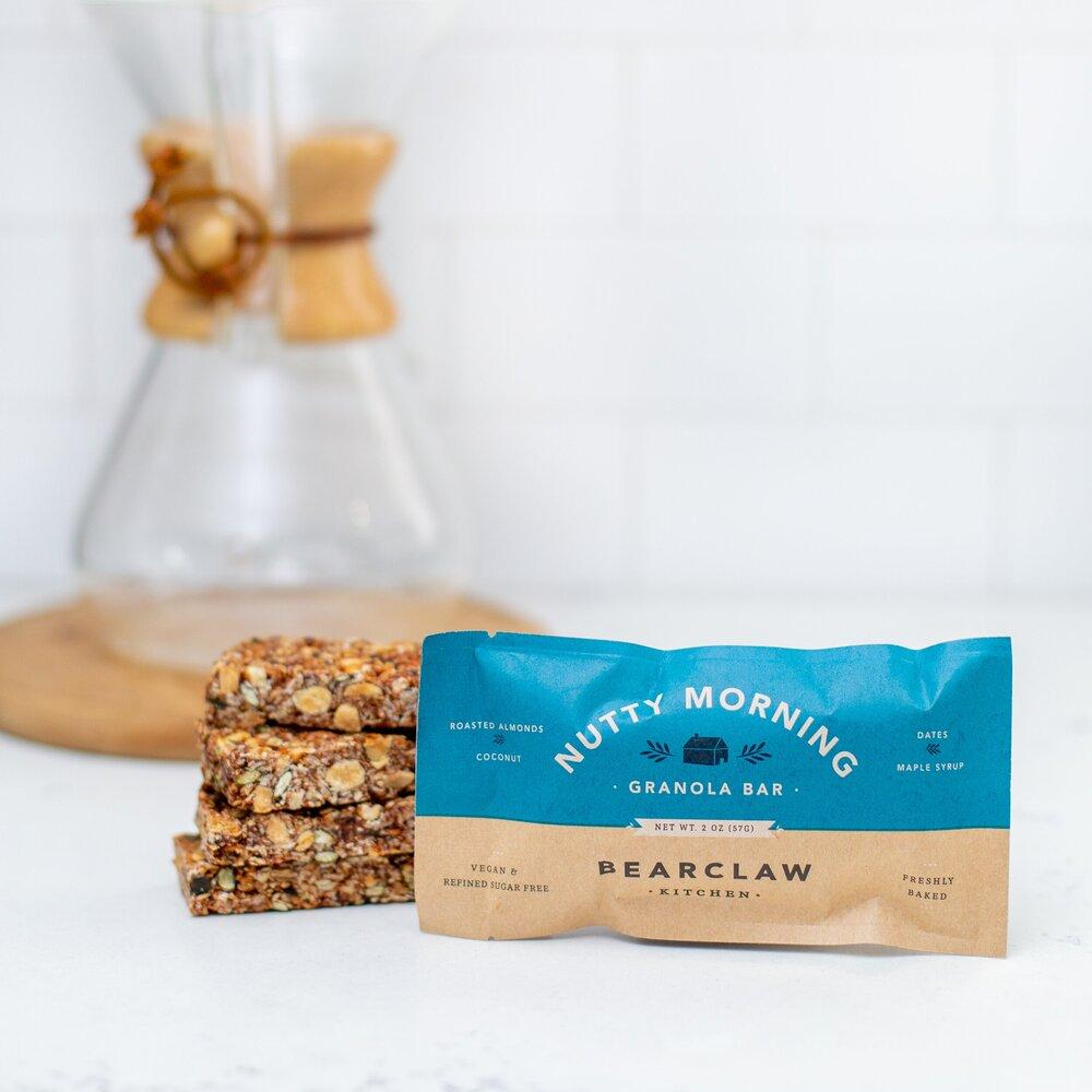 Nutty Morning Granola Bar (aka The Original) Bearclaw Kitchen