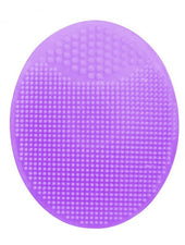Silicone Beauty Washing Pad Facial Exfoliating Blackhead Face Cleansing Brush 6 Colors