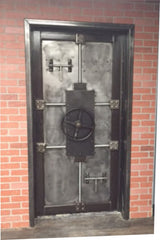 Bank style vault door for secure rooms, your home or office