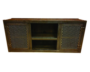 Modern Console - Front View - IndustrialFurnitureCo.com