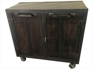 Mobile Storage Cabinet - Front View