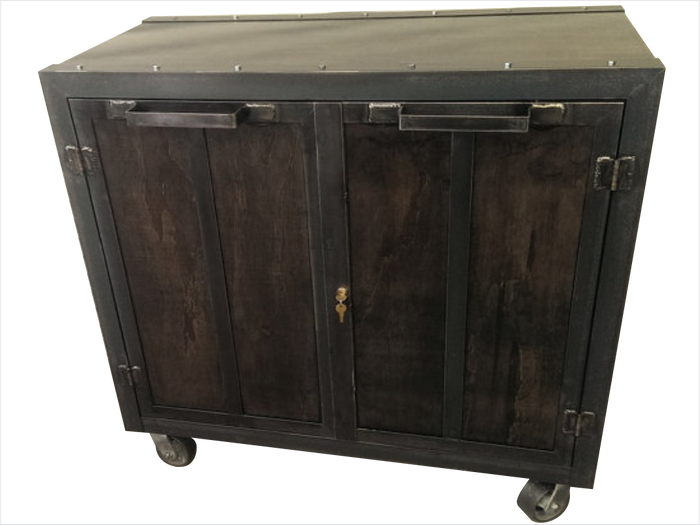 #014 - Mobile Storage Cabinet
