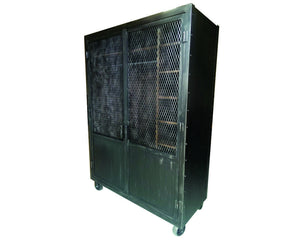 Industrial Wardrobe - Angle View - IndustrialFurnitureCo.com