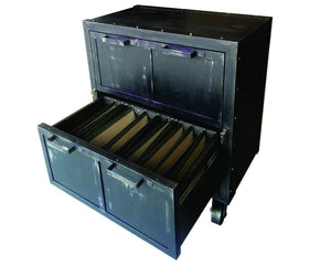- Industrial Mobile Lateral File - Bottom Drawer View - IndustrialFurnitureCo.com