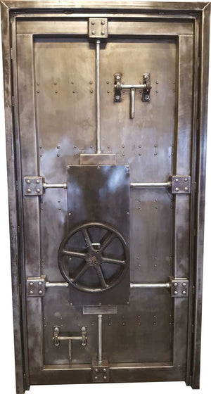 Bank Vault Door, Secure Room Door, Theme Room Door, Business Door from Industrial Evolution Furniture Co.
