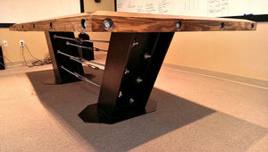 Conference Table - Side View - IndustrialFurnitureCo.com