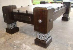 #042 - Gothic Style Coffee Table