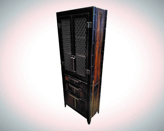 #060 - Industrial Storage Locker • Reclaimed Wood and Steel