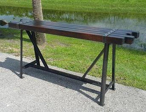 Industrial Side Board Table by www.IndustrialFurnitureCo.com