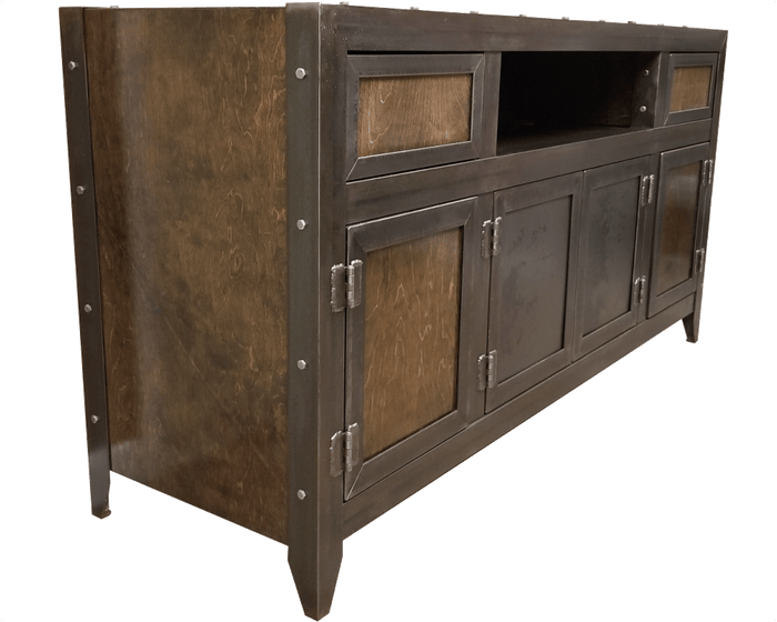 In Stock - #069 - The Bronson Industrial Media Console