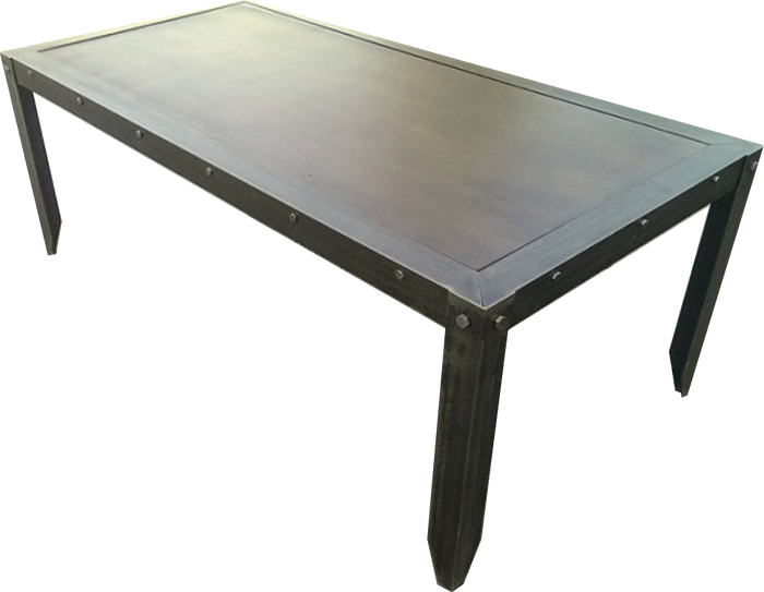 In Stock #021- Vintage Industrial Coffee Table in Provincial