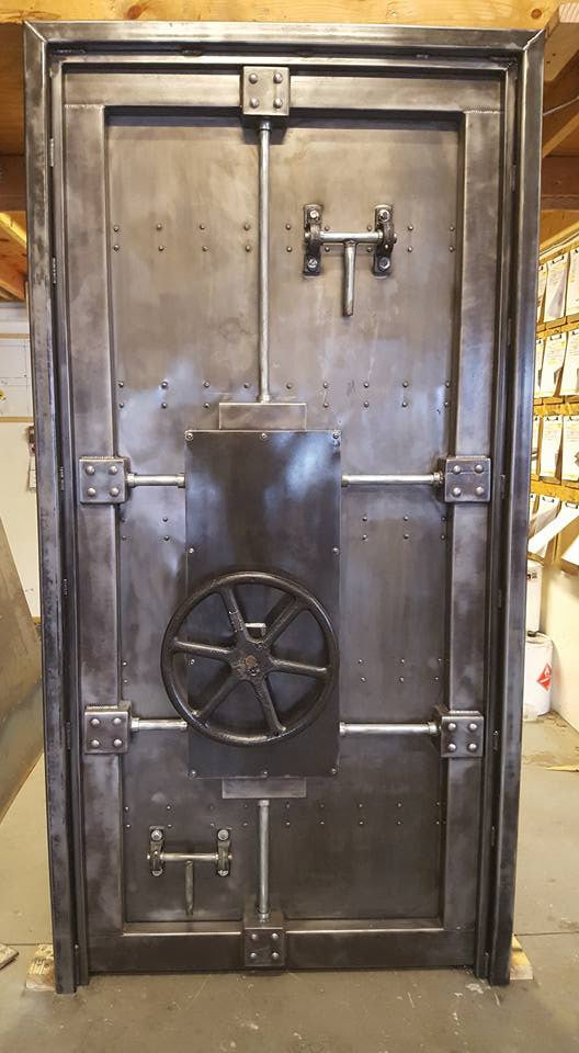 Vintage Industrial Metal Doors : St custom vintage industrial vault door