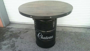 55 Gallon Drum Industrial Pub Table