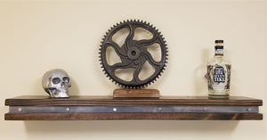 Vintage Industrial Floating Shelf, Mantel