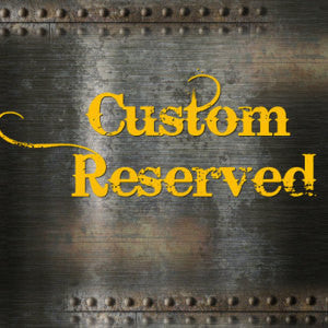 Reserved Listing - Adam T.
