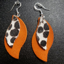 Load image into Gallery viewer, Dazzle Leather Earrings