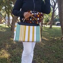 Load image into Gallery viewer, Kente  Crossbody Bag