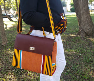 Kente  Crossbody Bag