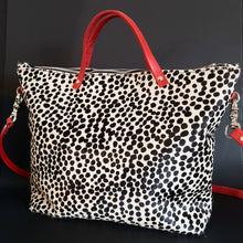 Load image into Gallery viewer, Mfonobong - Hair-on Leopard Tote Bag