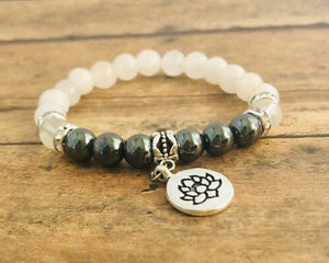Anti-inflamation Support Crystal Bracelet