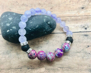 Amethyst Anxiety Support Calming Bracelet  Bracelet