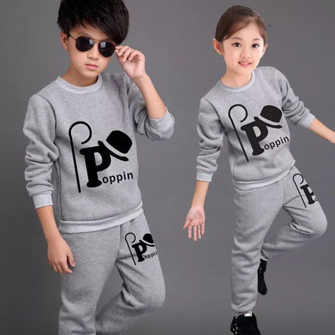 2 Pcs Active Costume Suits Boys Girls Outfit 5 to 12year