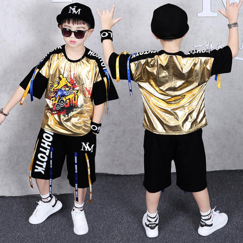 Boys Short Sleeve Two-Piece