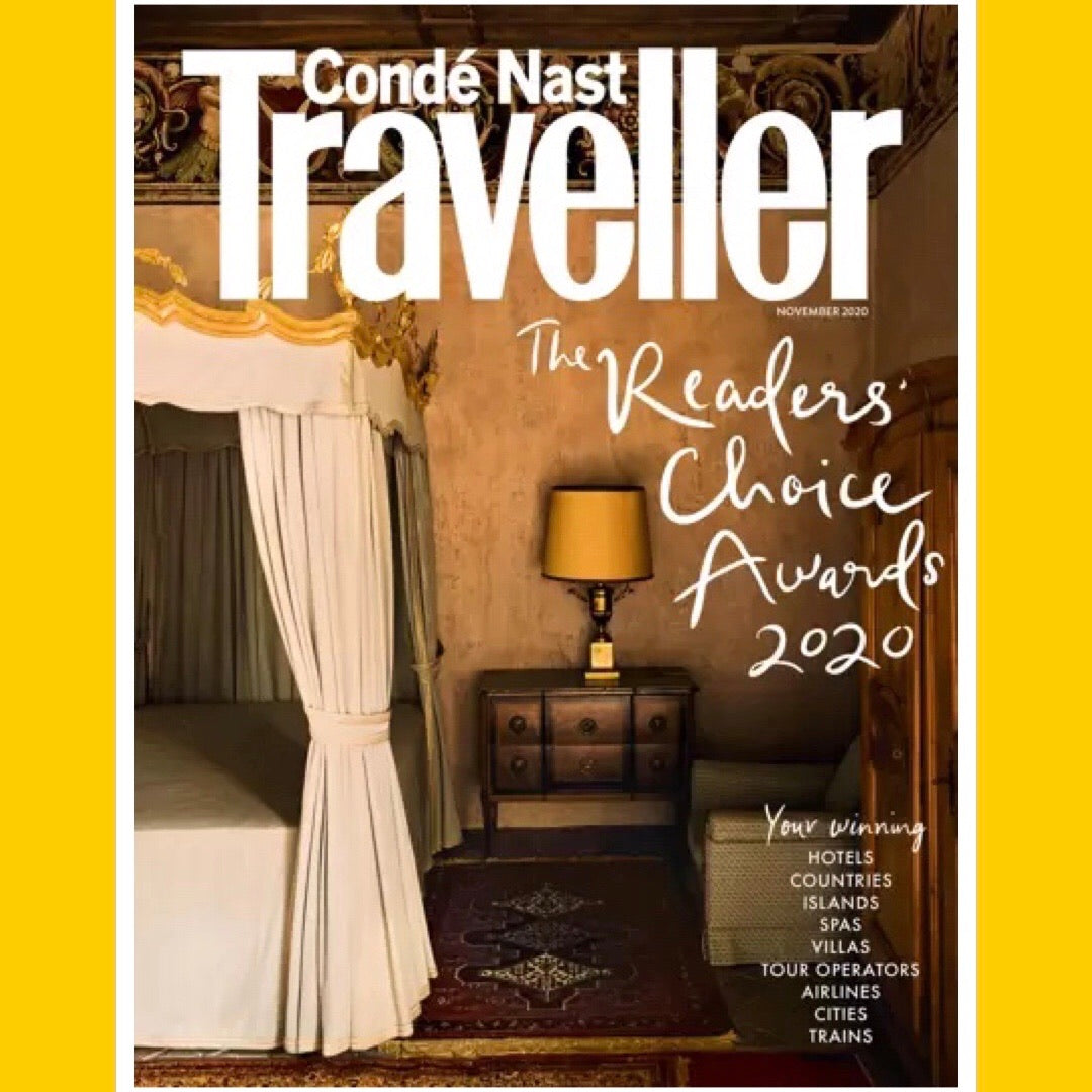 Condé Nast Traveller UK November 2020 [Back Issue]