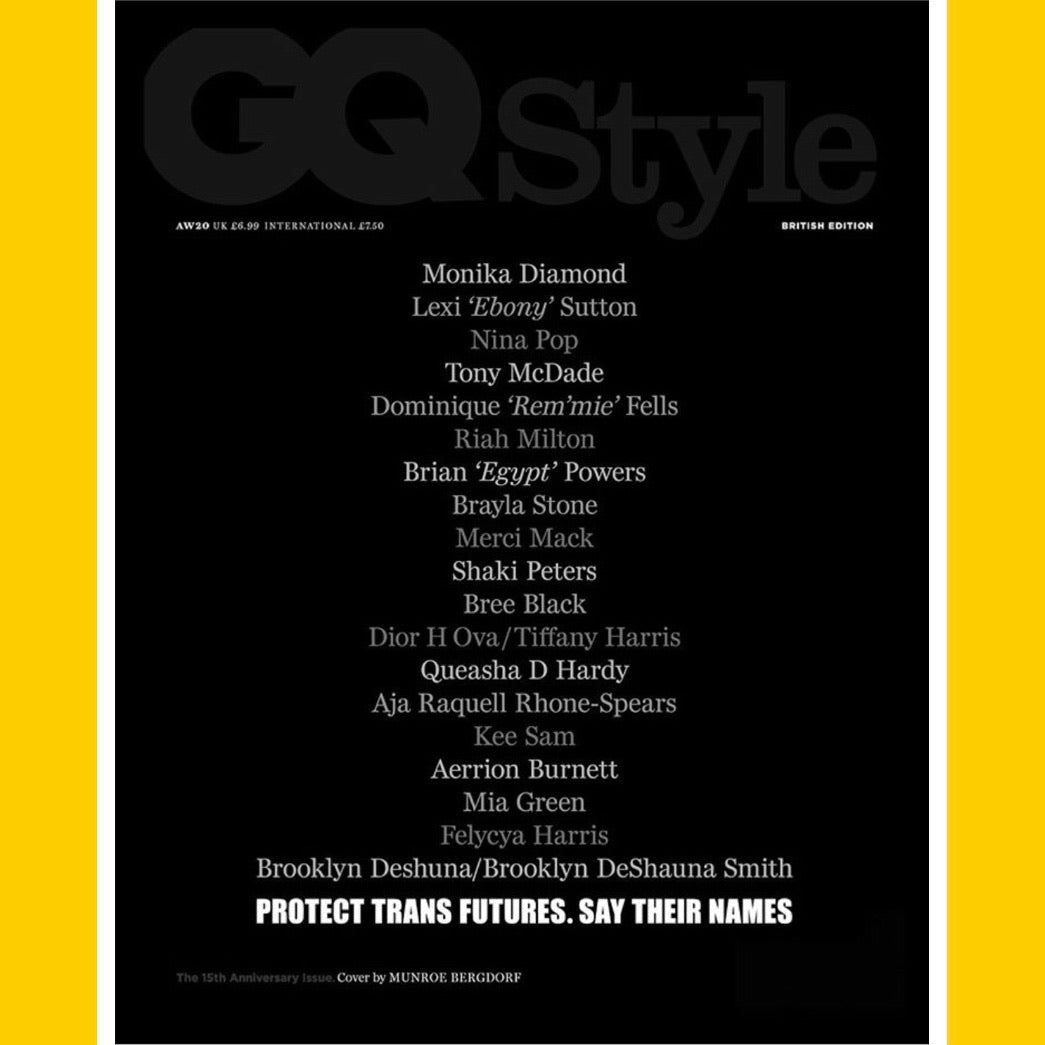 British GQ Style Autumn/Winter 2020 (Multiple Covers)