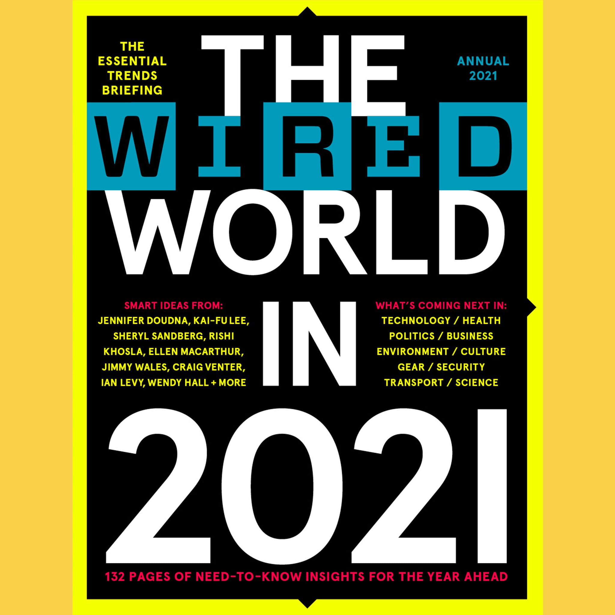 The WIRED World 2021