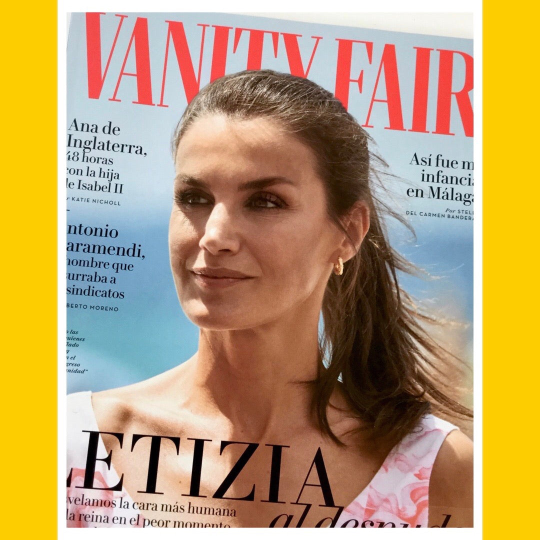 Vanty Fair Spain August 2020 [Back Issue]