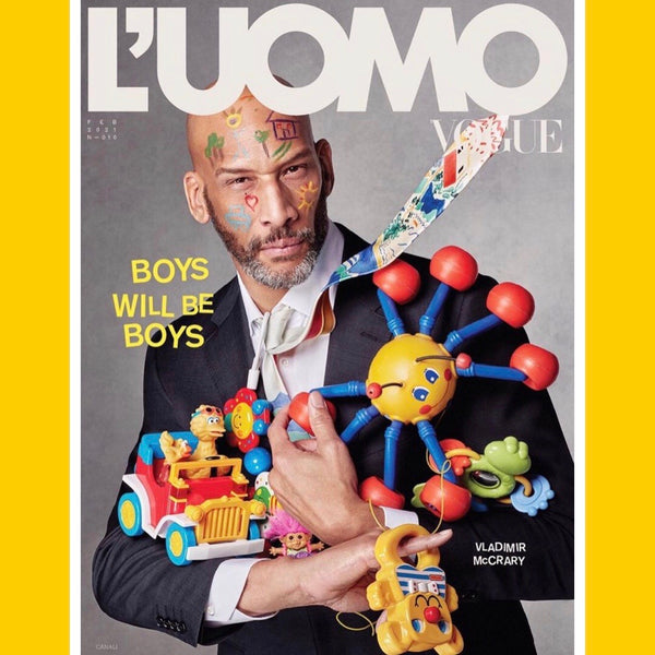 L'UOMO Vogue Italia February 2021 (mulitple covers)