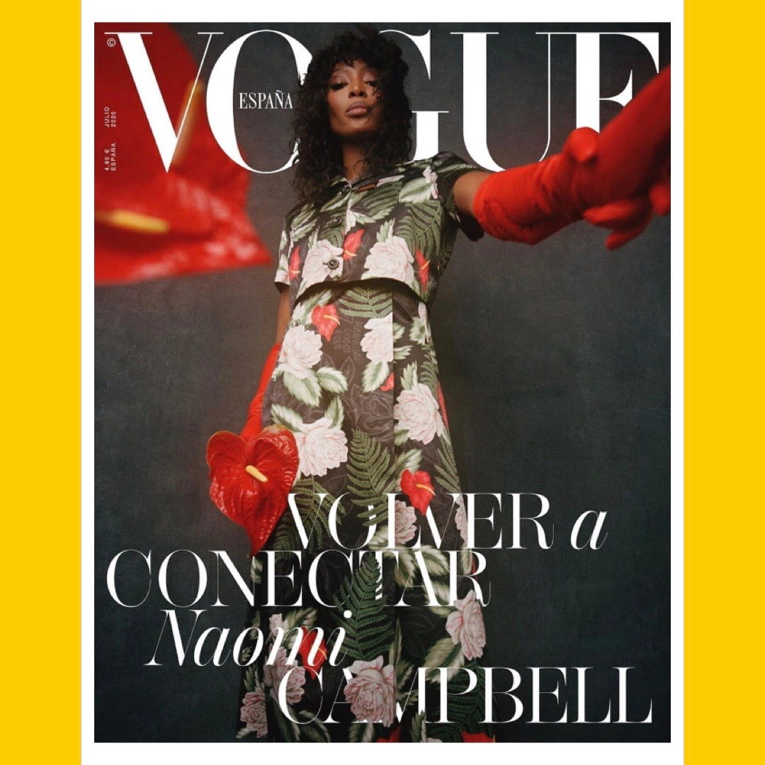 Vogue Spain July 2020 [Back Issue]